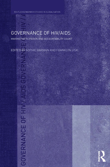Governance of HIV/AIDS Making Participation and Accountability Count book cover
