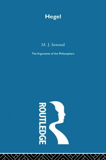 Hegel-Arg Philosophers book cover