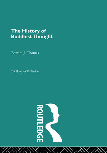 The History of Buddhist Thought book cover
