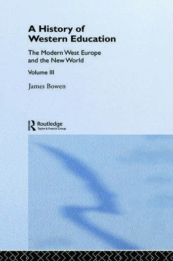 Hist West Educ:Modern West V3 book cover