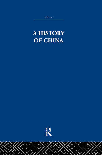 A History of China book cover