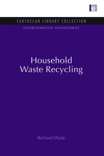 Household Waste Recycling book cover