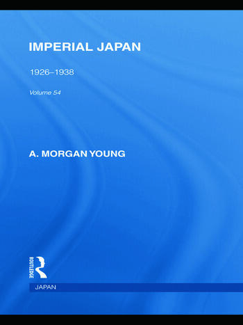 Imperial Japan 1926-1938 book cover