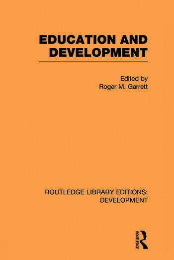 Education and Development book cover