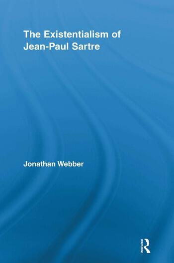The Existentialism of Jean-Paul Sartre book cover