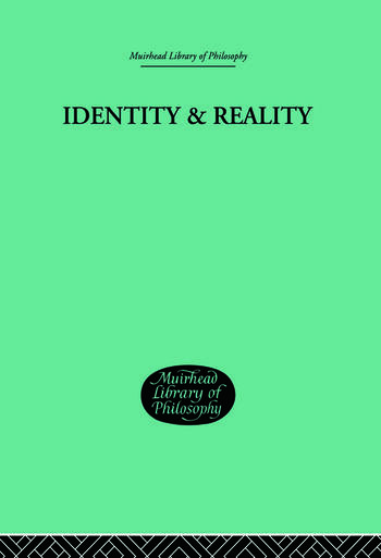 Identity & Reality book cover