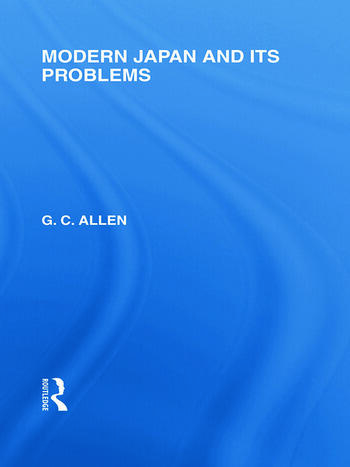 Modern Japan and its Problems book cover