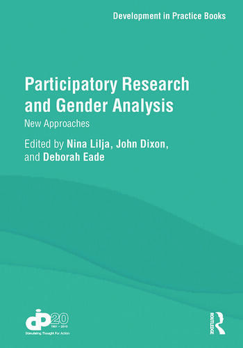 Participatory Research and Gender Analysis New Approaches book cover