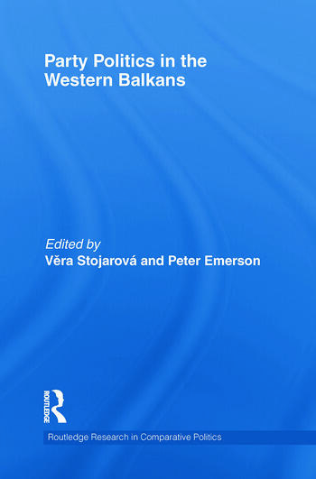 Party Politics in the Western Balkans book cover
