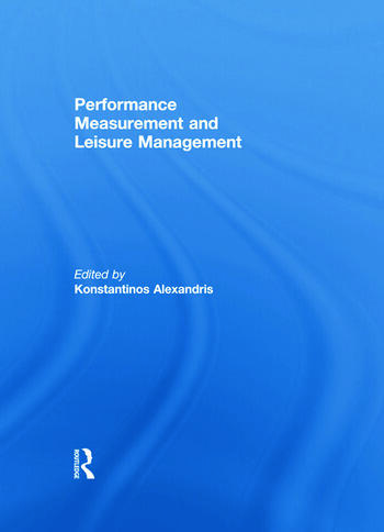 Performance Measurement and Leisure Management book cover