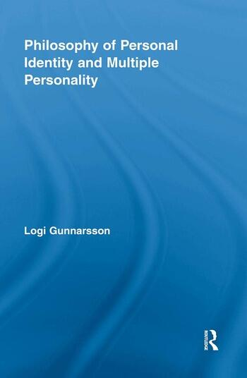 Philosophy of Personal Identity and Multiple Personality book cover