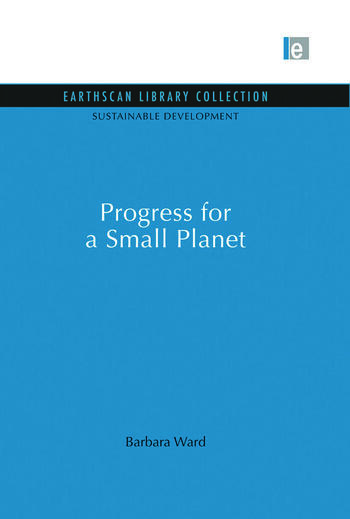 Progress for a Small Planet book cover