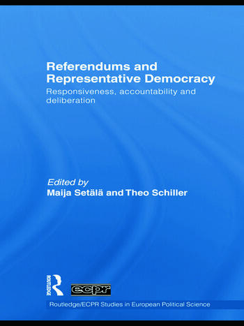 Referendums and Representative Democracy Responsiveness, Accountability and Deliberation book cover