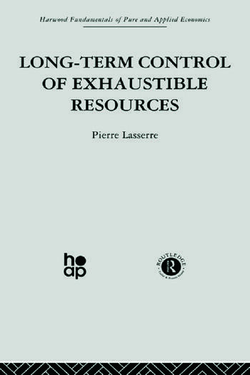 Long Term Control of Exhaustible Resources book cover