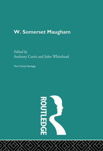 W. Somerset Maugham book cover