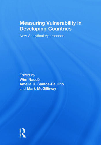 Measuring Vulnerability in Developing Countries New Analytical Approaches book cover