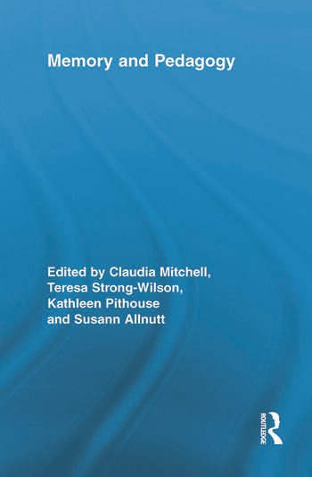 Memory and Pedagogy book cover