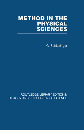Method in the Physical Sciences book cover