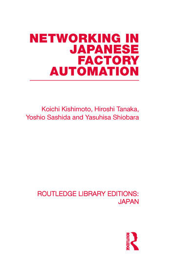 Networking in Japanese Factory Automation book cover