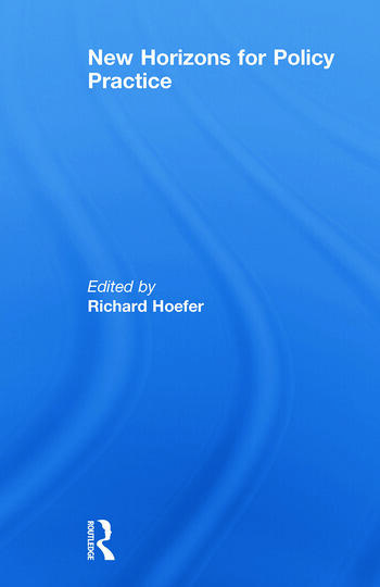 New Horizons for Policy Practice book cover