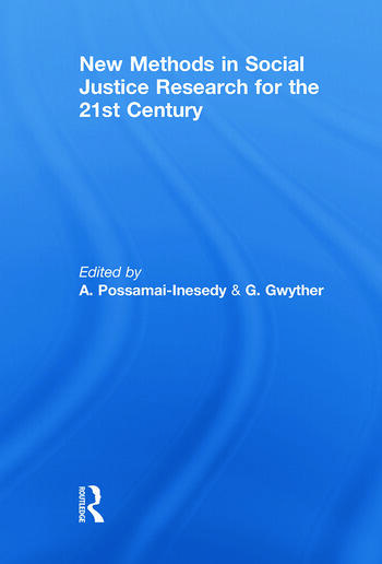New Methods in Social Justice Research for the Twenty-First Century book cover