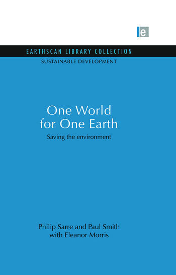 One World for One Earth Saving the environment book cover
