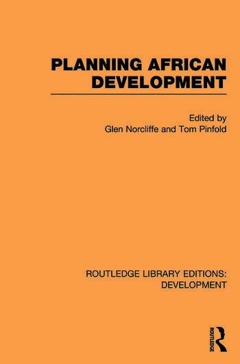 Planning African Development book cover