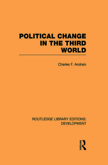 Poltiical Change in the Third World book cover