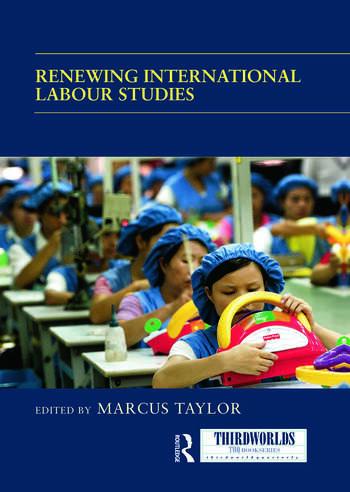 Renewing International Labour Studies book cover