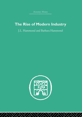 The Rise of Modern Industry book cover