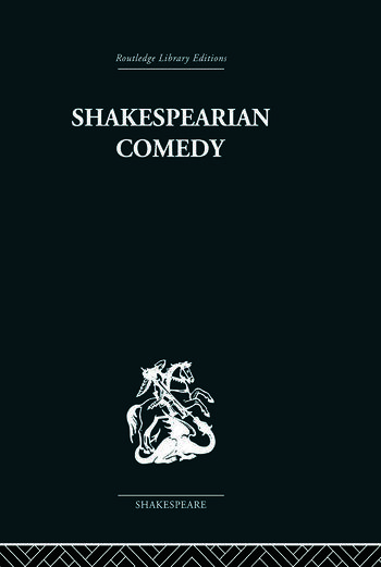 Shakespearian Comedy book cover