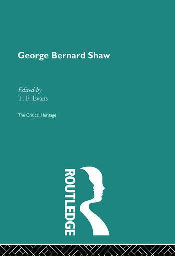 George Bernard Shaw book cover