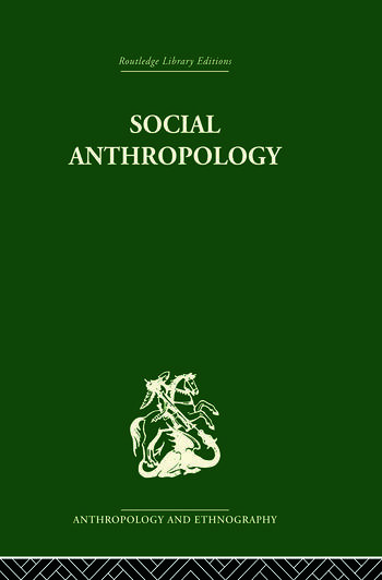 Social Anthropology book cover