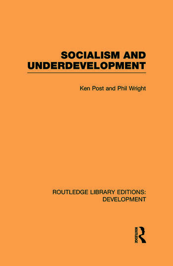 Socialism and Underdevelopment book cover