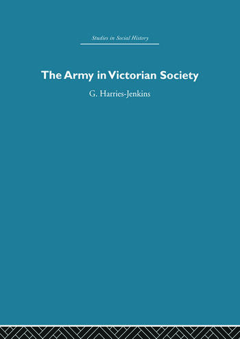 The Army in Victorian Society book cover
