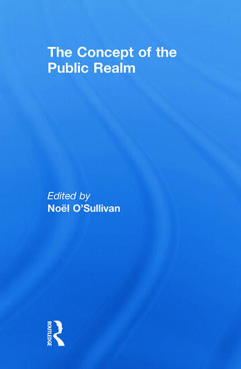 The Concept of the Public Realm book cover