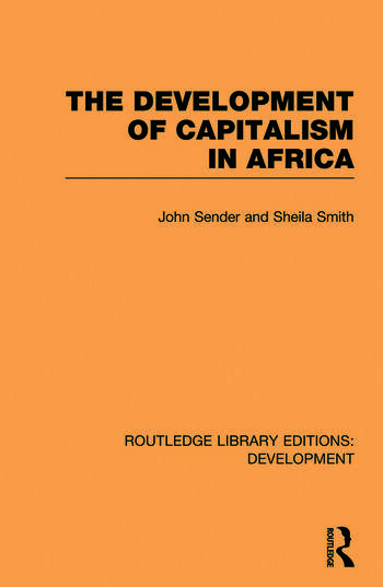 The Development of Capitalism in Africa book cover