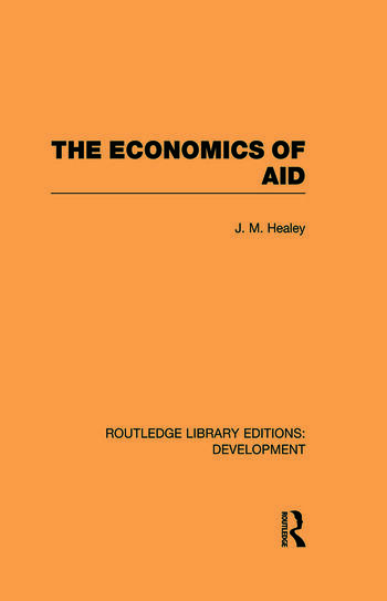 The Economics of Aid book cover