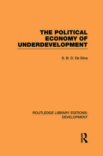 The Political Economy of Underdevelopment book cover