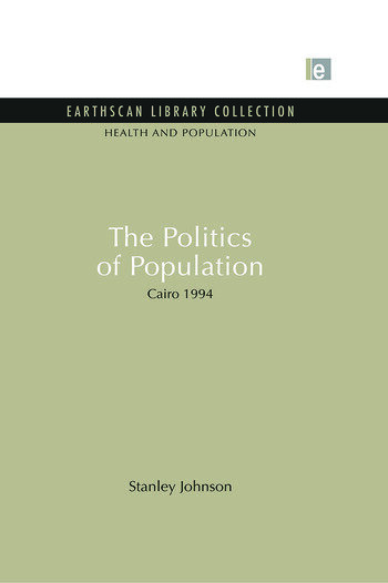 The Politics of Population Cairo 1994 book cover