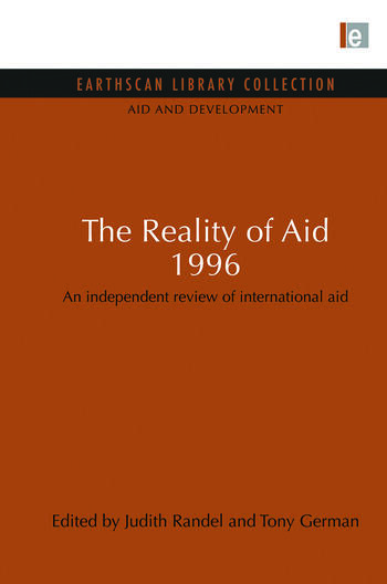 The Reality of Aid 1996 An independent review of international aid book cover