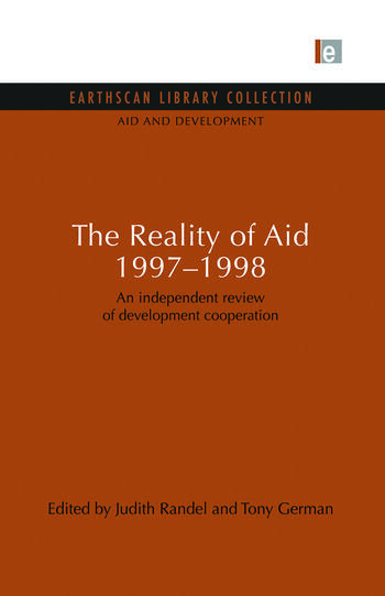 The Reality of Aid 1997-1998 An independent review of development cooperation book cover