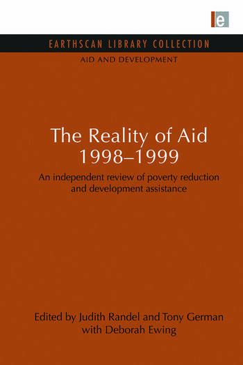 The Reality of Aid 1998-1999 An independent review of poverty reduction and development assistance book cover