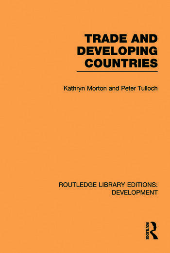 Trade and Developing Countries book cover