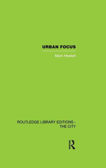 Urban Focus book cover