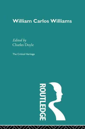 William Carlos Williams book cover