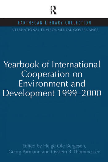 Yearbook of International Cooperation on Environment and Development 1999-2000 book cover