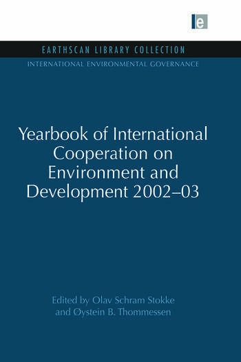 Yearbook of International Cooperation on Environment and Development 2002-03 book cover