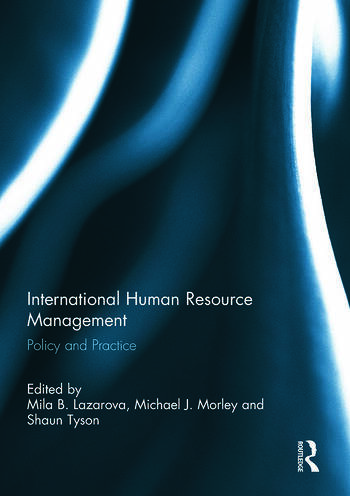 International Human Resource Management Policy and Practice book cover