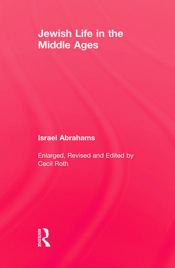 Jewish Life In The Middle Ages book cover